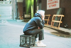 Jess and Asia for Pseushi (Cameron Oates [IG: ccameronoates]) Tags: film 35mm photography street wear style streetwear streetstyle pseushi sydney puma sneaker sneakers head freaker vans bog blaze glory careaux