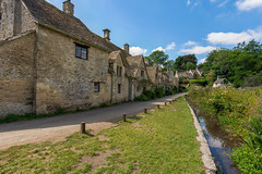 Arlington Row (Leigh Cousins RAW) Tags: arlingtonrow bibury village cotswold thecotswolds gloucestershire cottage rivercoln architecture picturesque famous beautiful quiet tranquil aonb historic