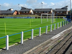 Meadow Park, Irvine (poity_uk) Tags: football fitba soccer voetball calcio fusball stadium stadion footballground fusballplatz irvinemeadowxi irvinemeadow medda meadow irvine ayrshire scotland meadowpark stand tribne