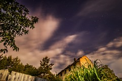 Night sky and clouds (tomaskriz1) Tags: hour blue moravian trees tree sunset sky season scenic scenery rural plant outdoor nature landscape land idyllic horizon green grass forest evening environment countryside country cloudy clouds cloud beauty beautiful background
