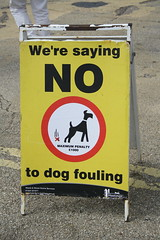 Sign (My photos live here) Tags: sign dog fouling hastings east sussex old town urban seaside england holiday resport houses buildings canon eos 1000d