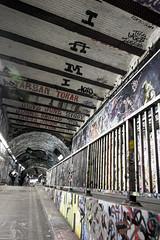 Tunnel (Bob the Binman) Tags: nikon d7100 graffiti london waterloo lambeth grime urban hccc leakestreet padst www londonist