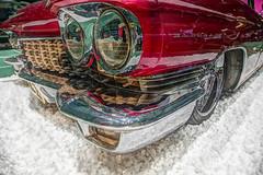 Eldorado (STTH64) Tags: car old classic eldorado motor show westcoast vaasa finland red chrome face carface lamps cadillaceldorado