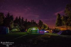 Camping under the stars (R0BERT ATKINSON) Tags: robatkinsonphotography sigma1020 night stars trees lakedistrict ullswater ullswaterholidaypark camping nikond5100 northwest