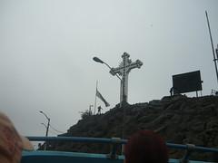 La cruz del Cerro San Cristbal llegando a la cima (fabriziocarballogerman) Tags: cerro sancristbal lima per cruz