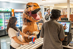 TRexSalad2 (IPFW) Tags: dinosaur tyrannosaur donsatwalb ipfw saladbar
