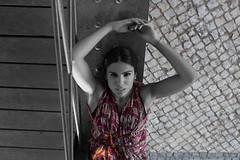 Sole 8 (Jezabel Galn) Tags: modelo model mujer woman huelva ra muelle del tinto luz light jezabel sky canon rflex