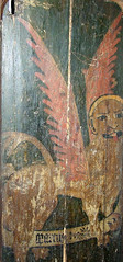 rood screen: St Mark (Simon_K) Tags: wiggenhall mary magdalene magdalen norfolk eastanglia