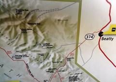 Titus Canyon Road Map (travelourplanet.com) Tags: deathvalley deathvalleynationalpark furnacecreek desert california usa furnacecreekmap deathvalleymap tituscanyonroadmap