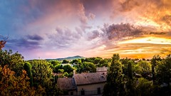Souvenir de Provence..... (mactoner) Tags: nuages clouds sigma1750mm sigma d7k d7000 nikon mactoner colorful colors sun sunset paysage landscape