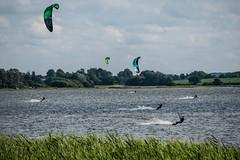Weseby - Kitesurfen auf der Schlei-1 (Steen Marqvard) Tags: kitesurfen kitesurfing wasser water weseby