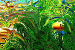 green (alexsar982) Tags: green paint photopainting photo digitalart digitalartwork modern moderndigitalart