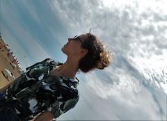 Dreams.- Sueos. (Poldarkk) Tags: sandra daughter anglet summer dreams beach arte art aquitaine family poldarkk