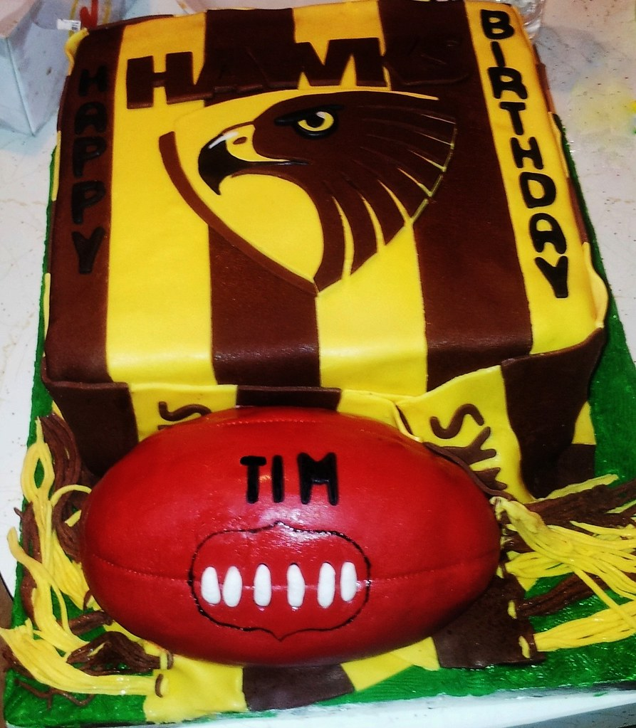 Images Of Footy Cakes