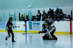 OSS vs Huskies (blehmanphotos) Tags: ontario canada ice sports womens broomball arena finals mens awards nationals stratford 2012 medals polarice vipers newhamburg teamportraits canadiannationals