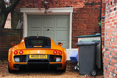 M600. (Richard T Smith) Tags: street orange t back nikon garage smith canterbury bin richard carbon dust gos noble m600 d80 m600gos