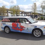 Support Van for Gear West: a fundraiser for prostate cancer