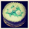 Cake (louda.) Tags: flower cake frosting pipping cakeclass bakingbreadmaking creamdecorating