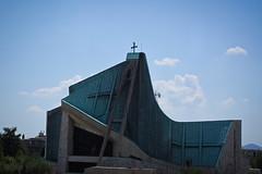 San Giovanni Battista, Highway A11 (akwan.architect) Tags: italy sun church architecture florence chruch chiesa freeway giovanni michelucci sangiovannibattista dellautostrada 196063 highwaya11