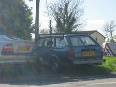 1984 Toyota Corolla DX Estate (UKPASEOCLUB) Tags: classic abandoned car rust estate rusty 1984 toyota corolla dx