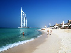 Dubai (iTimbo61) Tags: travel blue sea travelling green beach beautiful asian hotel sand asia dubai gulf uae olympus resort emirates arab beaches arabian luxury om1 burj e500 travelphotography olympuscameras