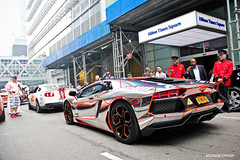 Chrome Aventador (Andrew Cragin Photography) Tags: auto new york city nyc ny cars beautiful beauty car race america canon rebel interesting italian automobile italia european fast best explore expensive 3000 lamborghini rare exclusive fastest extraordinary automobiles gumball winning 2012 v12 lambo explored 200mph aventador lp7004 shutterspeedphotos