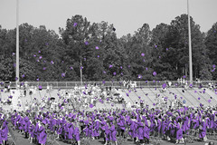 Purple Pride (Nancy_Bott) Tags: georgia happy gold purple caps graduation excited gowns congratulations 2012 thrilled purplepride eastcoweta