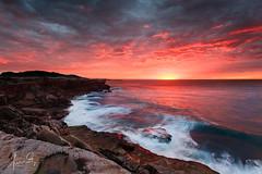 Cape Solander Sunrise (sachman75) Tags: sea sunrise coast rocks waves sydney australia coastal nsw newsouthwales coastline rugged canon1740mmf4 capesolander 5dmark2 canon5dmarkii singhrayreversendgrad3stops leefiltersndgrad2stops