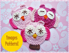 il_570xN.330329735 (Croche Patterns) Tags: patterns crochet crochetowl crochetappliques