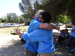big congrats (maureenld) Tags: camping friends game fun 40th bash bruce may db annual lynne pinnacles 2012 pinnaclesnationalmonument bethereorbesquare laddergolf desertbash btobs