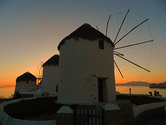 Mykonos Sunset (outdoorPDK) Tags: sunset windmills explore greece mykonos