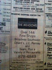 Meadows Mall Early 90s Logo (frankasu03) Tags: las vegas mall shopping meadows malls center 80s 90s