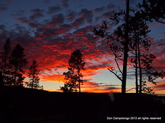 156 Sunset in Yellowstone (Don C. over 1.9 Million Views) Tags: sunset excellent yellowstone