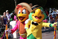Soundsational - Panchito and Jose (jodykatin) Tags: disneyland disney threecaballeros josecarioca panchitopistoles mickeyssoundsationalparade