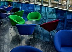 Take A Seat (MMiPhoto) Tags: blue newcastle cafe chair seat sage tyne gateshead tyneside
