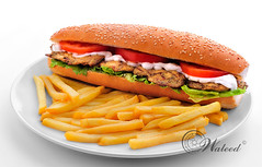 Chicken Sandwich -   (Waleed Bin Talip) Tags: chicken sandwich