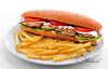 Chicken Sandwich - سندويش دجاج (Waleed Bin Talip) Tags: chicken sandwich دجاج سندويش