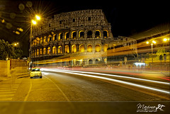 Roma : Colosseo di notte - Rome :Colosseum by night (PhotoMaximo) Tags: rome roma night it notte colisseum colosseo digitalcameraclub 18200mmvr nikond300 photomaximo wwwphotomaximo