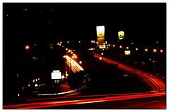 Av Italia (Tapir! Uno de los tantos niños perdidos.) Tags: uruguay luces noche calle italia nocturna montevideo carteles av petrobras curva malvin estacióndeservicio repecho