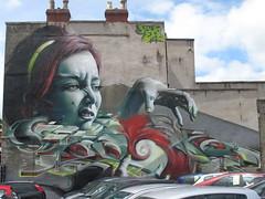 SmugOne graffiti, Bristol (duncan) Tags: bristol graffiti mural murals streetart upfest northstreet southville smug smugone perfect girl