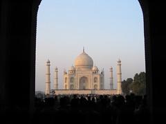 Taj Mahal Crowds