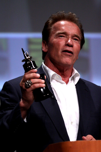 california san comic arnold schwarzenegger award diego center convention con 2012 inkpot