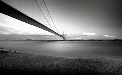 Humber Bridge- A repost of what I think are my best shots form 2012 (Chris McLoughlin) Tags: longexposure landscape hdr humberbridge polarizingfilter hessle nd8 nd4 chrismcloughlin sonya580