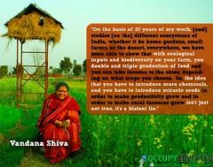 Vandana Shiva of India for Organic Food untainted by GMO seeds (DanVoglesong) Tags: corn organic indianfarmers gmofreerice gmofreeworld organicandgmofreeworld millionsagainstmonsanto foodsafetyandjustice occupytheethicalvoidbankingpharming biopiracybiocolonialismfreetradegenetrade proposition37nov2012oncaliforniagmofoodlabelling