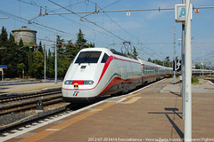 E414 Frecciabianca - Verona P.N. (Croc85) Tags: train zug trains verona express orient bahn 414 treno treni vsoe vonat vast vonatok e414 frecciabianca