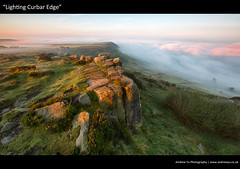 lighting curbar edge (awhyu) Tags: park district derbyshire peak national edge inversion gritstone baslow curbar