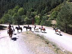 Pyrene Summer Camp_Riding Camp (Club Pyrene) Tags: summercamp horseriding aventura lacerdanya pirineu pyrene campamentos sostenible coloniesestiu
