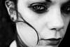 Snow Black (Ian_Boys) Tags: portrait bw beautiful dark hair eyes derbyshire gothic goth dramatic megan emotional narrative charlesworth snowblack artlegacy