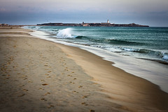 Oceano Atlntico (Franci Esteban) Tags: ocean landscape atardecer 50mm andaluca playa arena 7d cdiz isla atlntico tarifa oceano orilla loslances 50mm118ii isladelaspalomas canoneos7d