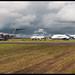 Trio of Airbus Heavies